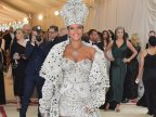 Rihanna Walked The Red Carpet Dressed Like A Pope